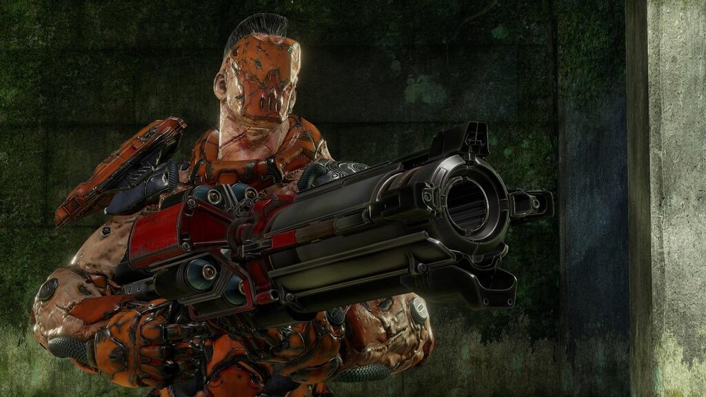 Quake Champions герой в маске