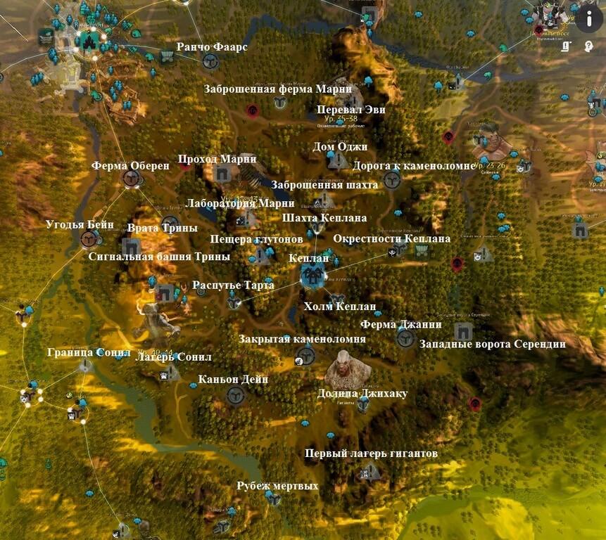 Карта Кеплана
