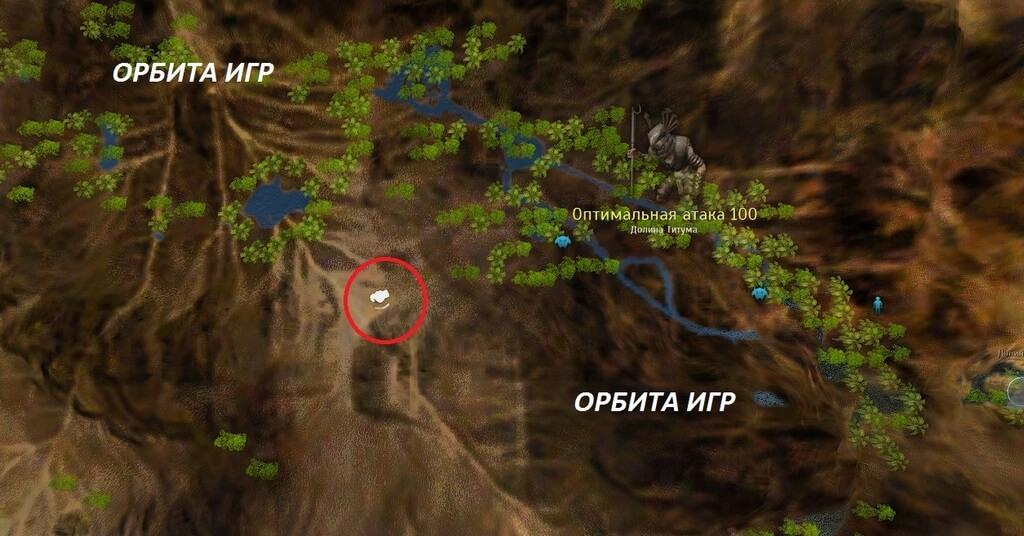 Таинственная карта карта