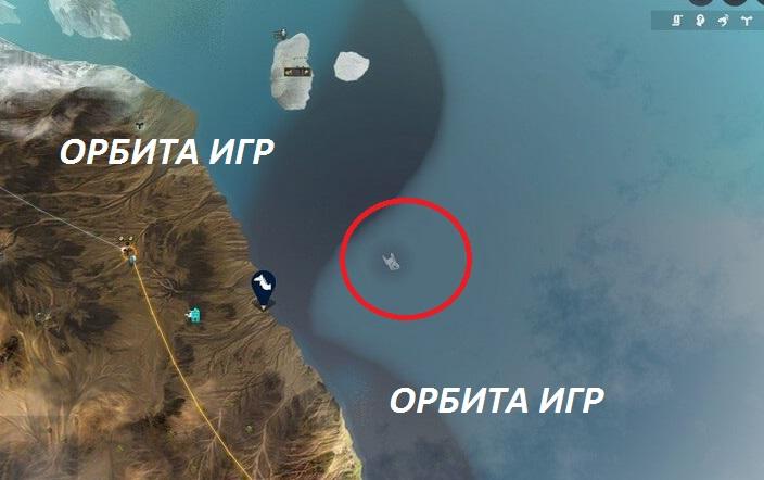 Невероятный подводные камни карта