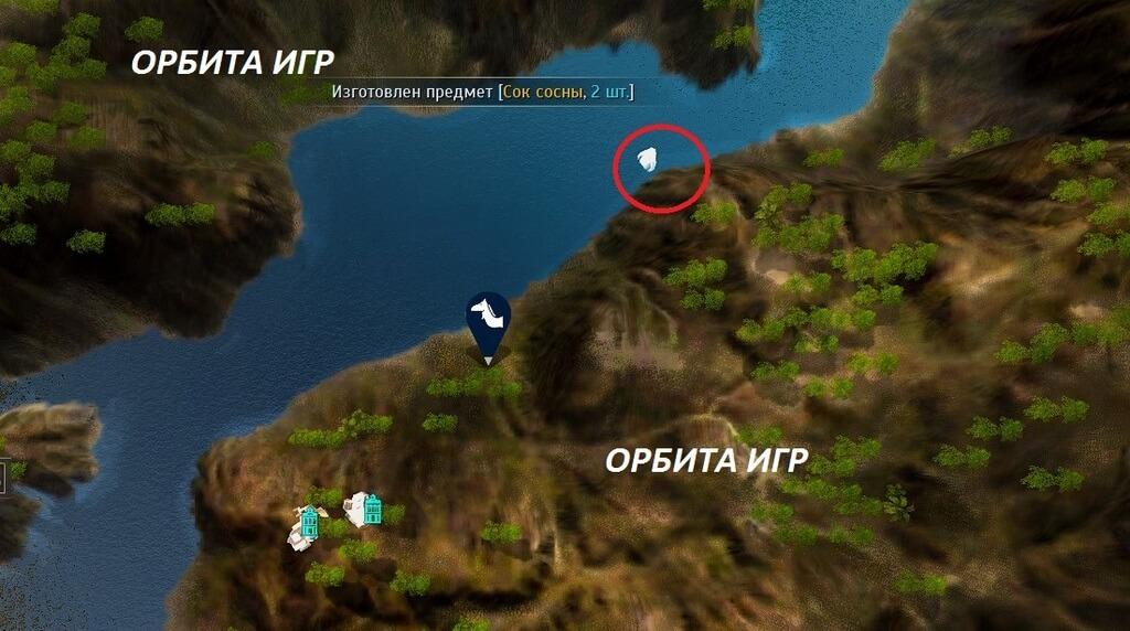 Подводные петроглифы карта