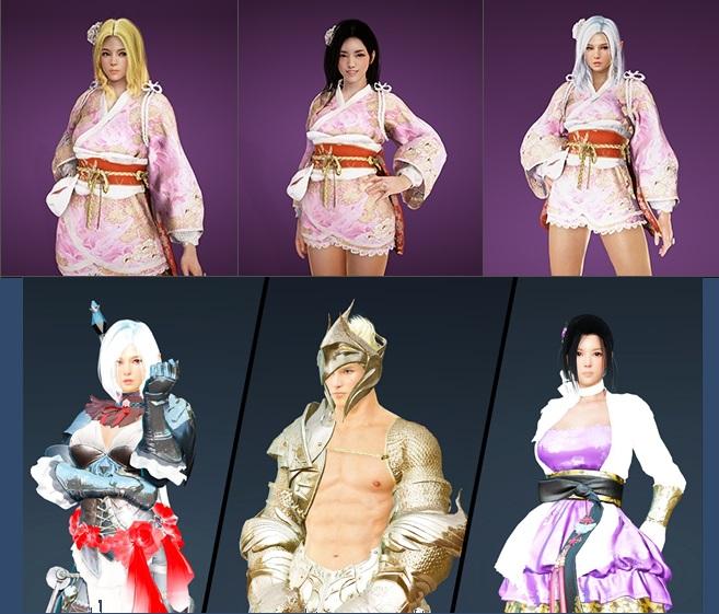 BDO костюмы 22-03-18