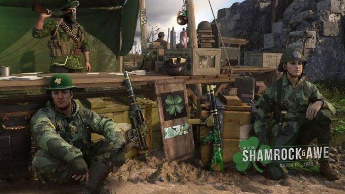 Call of Duty WWII Shamrock & Awe