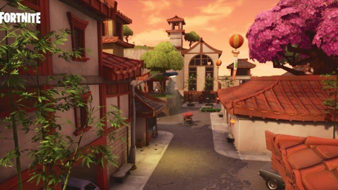 Fortnite Китайский квартал