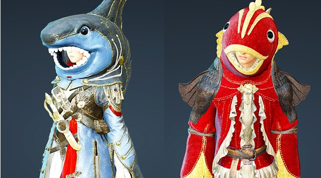 BDO костюм рыбка