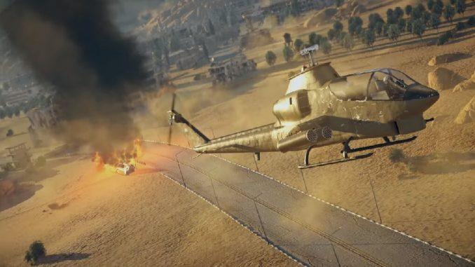 War Thunder боевые вертолеты
