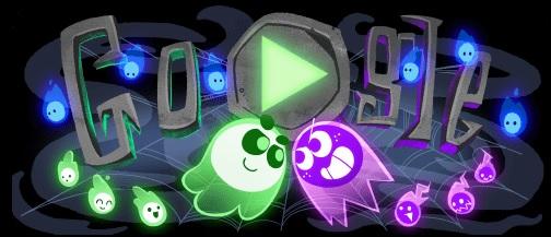 Google Хэллоуин