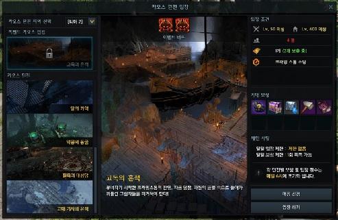 Lost Ark подземелье хаоса событий