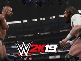 WWE 2K19 обложка