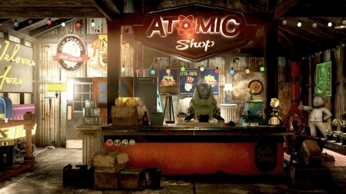 Fallout 76 Атомная лавка