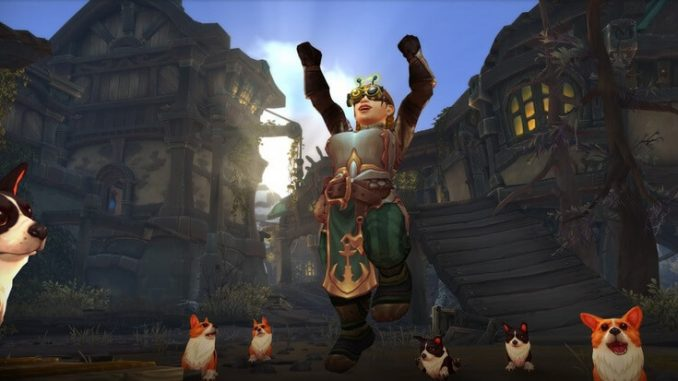 World of Warcraft prazdnik