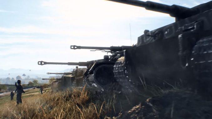 Battlefield V немецкий танк