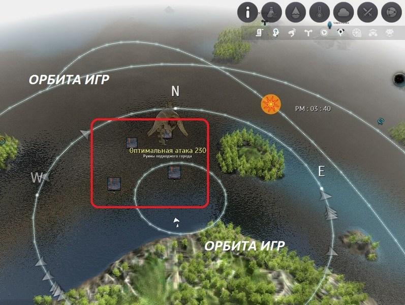 Сикрайя карта