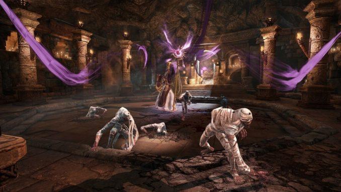 Bless подземелье Мавзолея Сапиенса