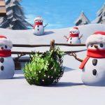 Fortnite: можно замаскироваться под снеговика