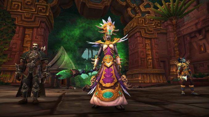 World of Warcraft Битва за Дазаралор