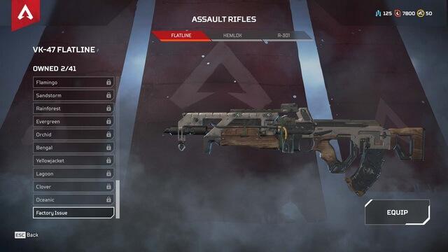 Apex Legends Flatline VK-47
