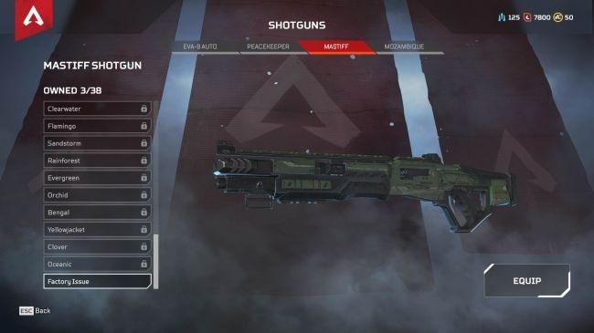 Apex Legends Mastiff Shotgun