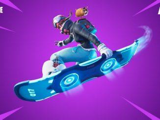 Fortnite летающий сноуборд