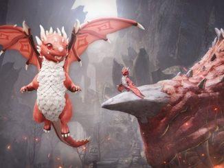 BDO Красный дракончик
