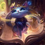 League of Legends: геймплей кошки Юми