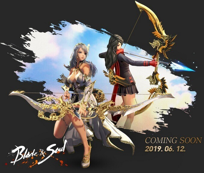 Blade and Soul тизер лучника