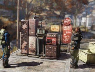 Fallout 76 персональные торговые автоматы
