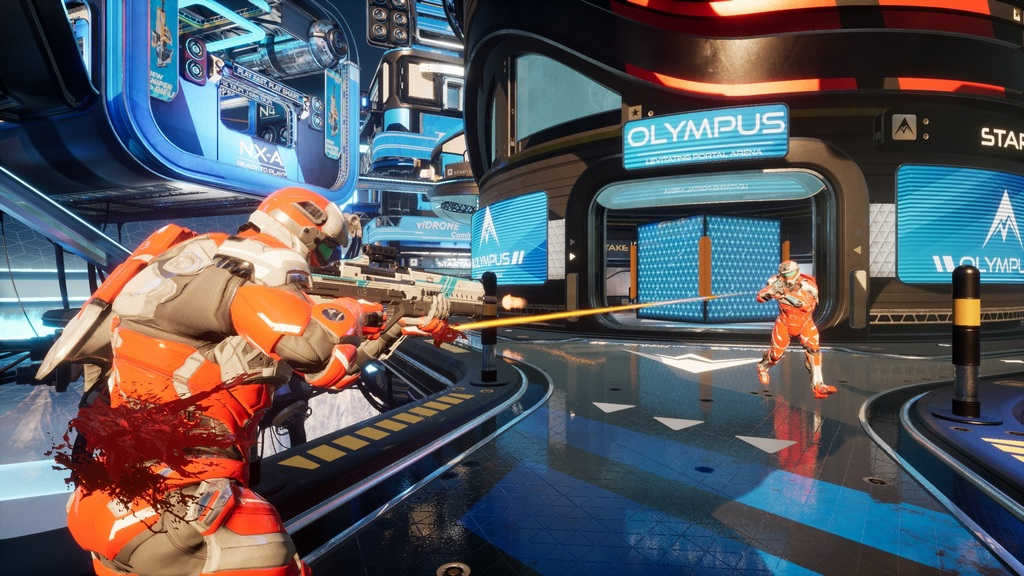 Splitgate Arena Warfare