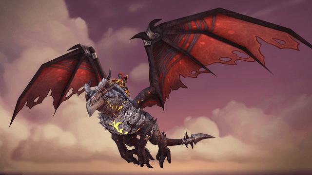 World of Warcraft дракон