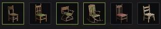 Коллекция из стульев