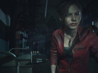 Resident Evil 3 Remake женщина с фонариком