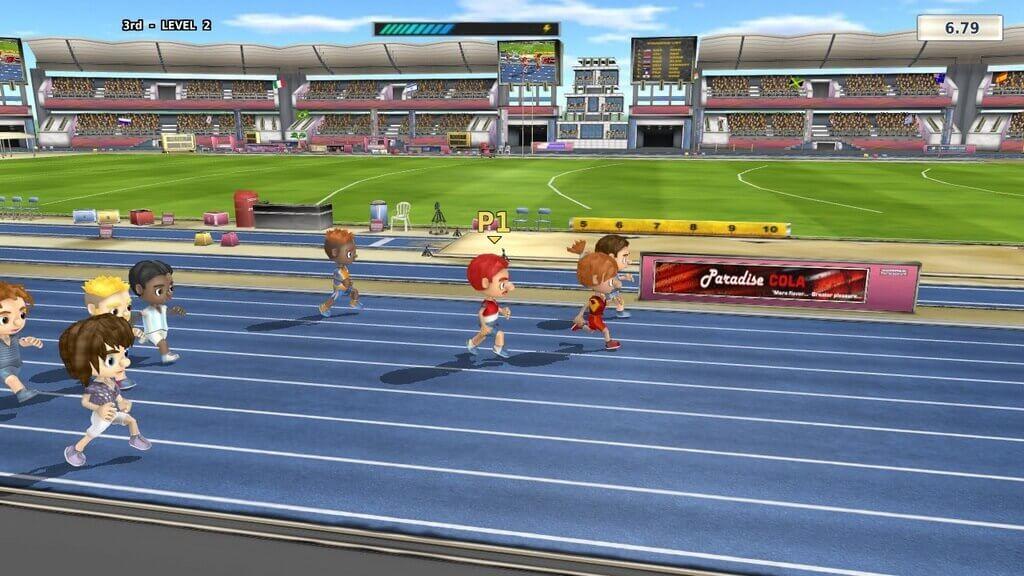 Summer Games Heroes бег