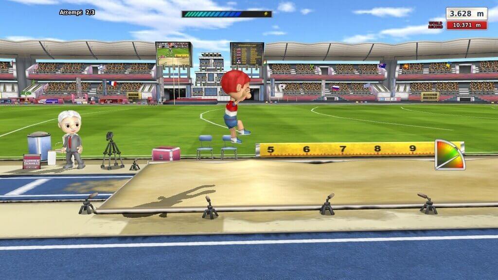 Summer Games Heroes прыжки
