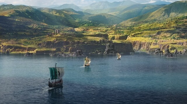 Assassins Creed Valhalla корабли