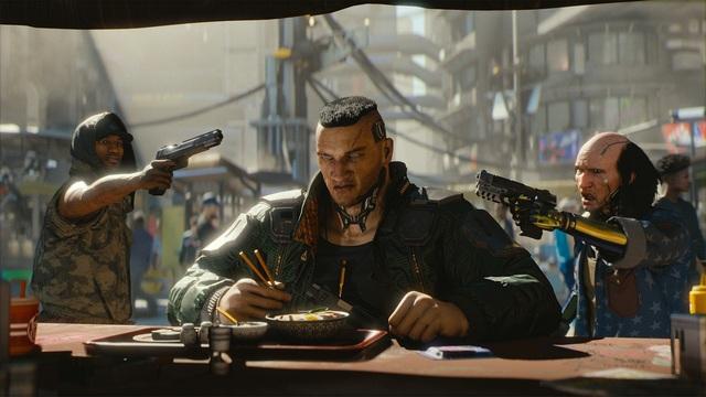 Cyberpunk 2077 бар