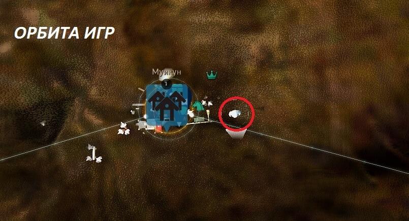 Рутрагон в Муикуне карта