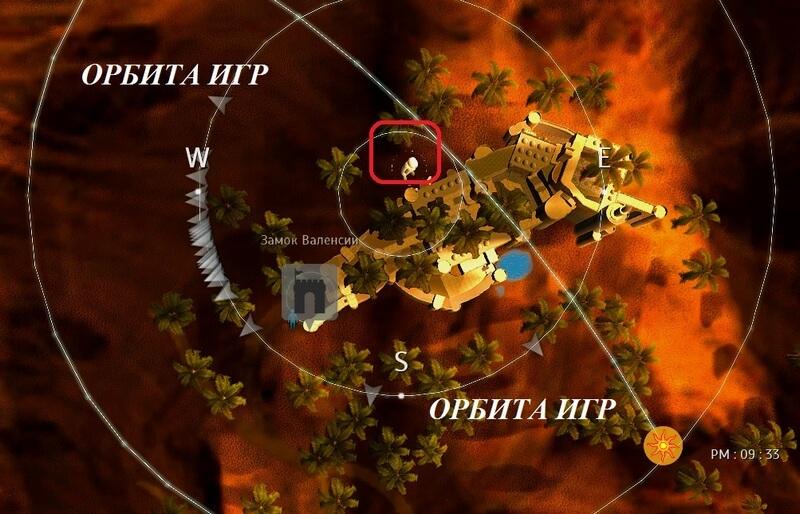 Карта вход в зал Корко