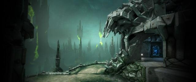 Quake Champions Башня Котха