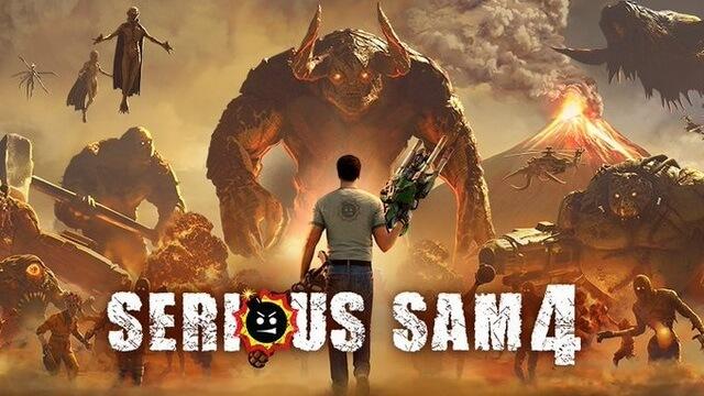 Serious Sam 4 обложка