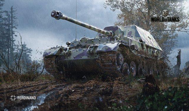 World of Tanks ferdinand