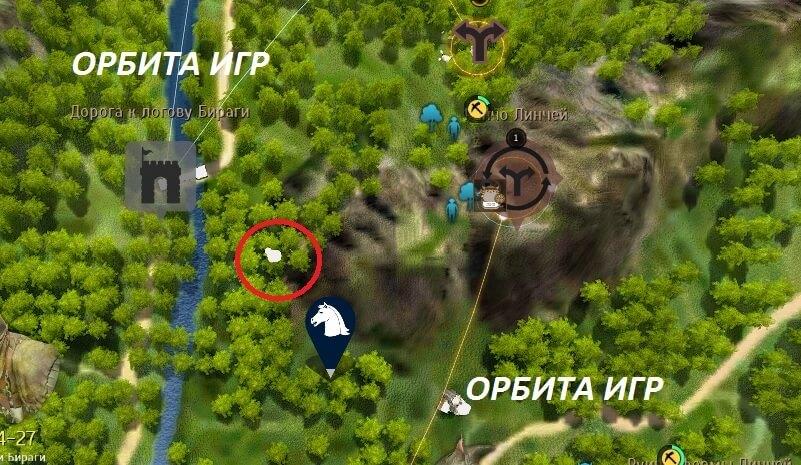 Драцена баленос карта