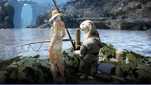 BDO выдра рыбалка