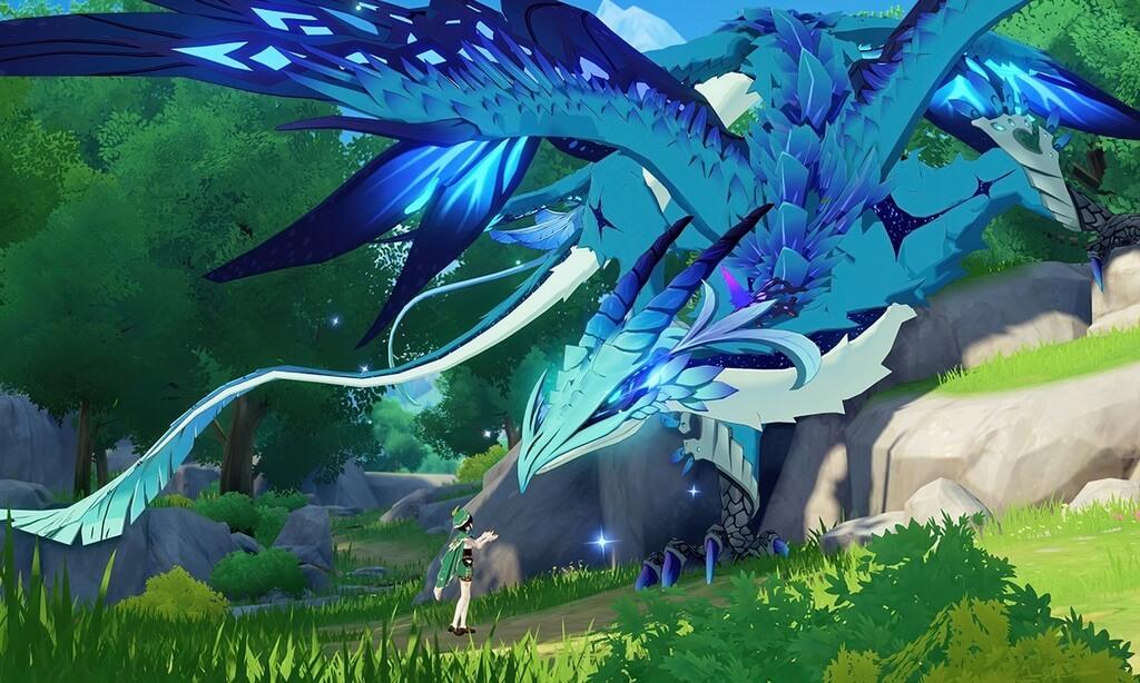 Genshin Impact дракон 2