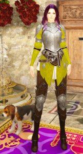 сундук с костюмом хлои шила эль