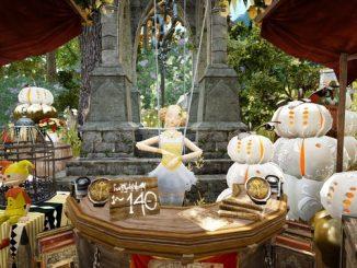 BDO Хеллоуин кукла