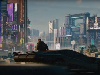 Cyberpunk 2077 машина