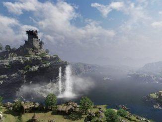 Bless водопад