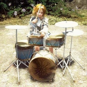 Флочестра барабанная установка