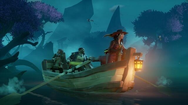 Sea of Thieves лодка