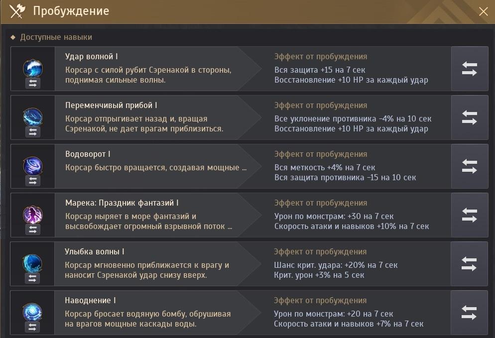 Морфы Наследие Корсар PvE